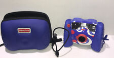 FISHER PRICE KID TOUGH DIGITAL CAMERA BLUE COLOR WORKS GREAT -USB CABLE INCLUDED