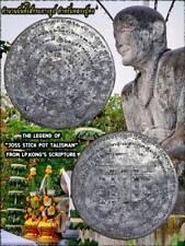 Joss Stick Pot Talisman Phra Arjarn O Thai Amulet Attraction People & Wealth