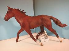 CollectA Figurine-Standardbred Pacer Stallion Horse-Chestnut-New