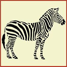 Zebra Stencil, African Wildlife Stencil  The Artful Stencil