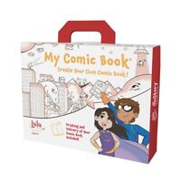 Lulu Jr My Comic Book Make Your Own Comic Book Kit w/ Professional Printing T550