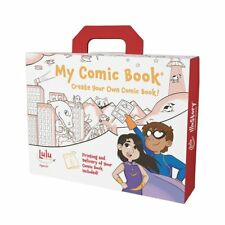 Lulu Jr My Comic Book Make Your Own Comic Book Kit w/ Professional Printing T550