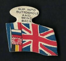 More details for carreras - flags of the allies (shaped) - union jack and four allies