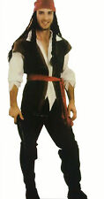 New caribbean pirate man costume party/halloween