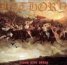 Blood Fire Death by Bathory (CD, 1994, Kraze Records)