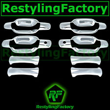 05-13 Chevy Colorado Triple Chrome Plated ABS 4 Door Handle w/ PSG Keyhole Cover