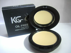 KRAZY GIRL CREAM TO POWDER 3 IN 1 OIL FREE # 002 BUFF