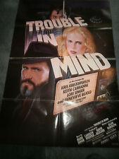 TROUBLE IN MIND(1985)KRIS KRISTOFFERSON ORIGINAL ONE SHEET POSTER