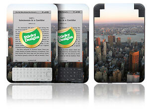 Amazon Kindle 3 - New York Manhattan Skyline Vinyl Skin Sticker Cover