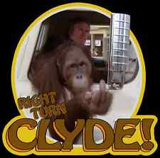 """70's Eastwood Classic Every Which Way But Loose """"Right Turn Clyde!"""" custom tee"""