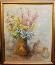 """Chaboseau Janine 65x 81  encadré """"Bouquet"""""""