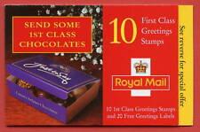 KX11 Flowers Chocolates Design Greeting Booklet