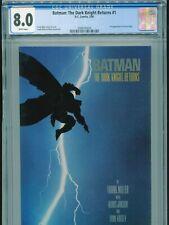1986 DC BATMAN: THE DARK KNIGHT RETURNS #1 FRANK MILLER 1ST CARRIE KELLY CGC 8.0
