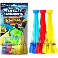 Zuru Bunch O Balloons 100 Self Sealing Water Instant Party Game Outdoor Bl/Ye/Re