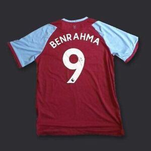 Saïd Benrahma West Ham Signed Shirt 20/21