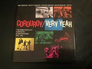 CORDUROY  -  VERY YEAH  -  4 CD BOX SET WITH BOOKLET ON CHERRY RED FROM 2013