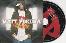 CD CARTONNE CARDSLEEVE MATT POKORA 2T SHOWBIZ THE BATTLE DE 2004