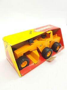 Vintage Buddy L Toys Pressed Steel Road Grader 1981 Mib mint boxed unused