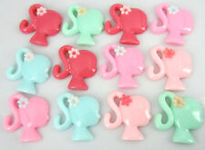 "30Pcs 1"" Mix resin flatback cabochons Barbie Girl Appliques for Craft/Scrapbook"