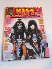 KISS Psycho Circus tour magazine 1999
