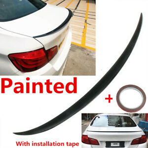 QMH Carbon Spoiler Roof Spoiler Suitable For Bmw 5Er E60 Sedan 520I 523I 525I 528I 530I 535I 540I 545I 550I M Sport M5 2004-2010 Tailgate Roof Spoiler Rear Wing Factory Outlet