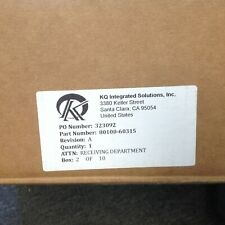 Thermo Scientific / KQ Integrated Solutions 80100-60315 Source Housing HESI/APCI