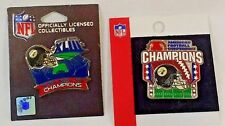 SuperBowl XLIII and AFC Champion Lapel Pins  1 of each New