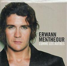 CD CARTONNE 1T ERWANN  MENTHEOUR    COMME LES AUTRES     DE 2004  TRES BON ETAT