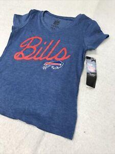 🌴🏈Buffalo Bills Short Sleeve Shirt NFL Apparel Football Girls Large L Shirt 🌴