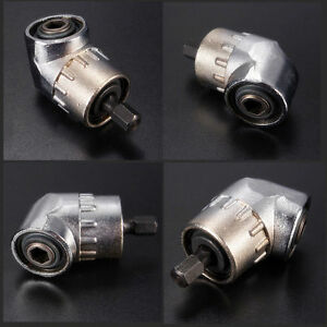 105°Angle Extension 1/4 inch 6mm Hex Drill Bit Screwdriver Socket Adaptor 28