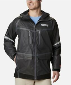 New With Tags Men's Columbia PFG Force XII OutDry Extreme Fishing Jacket, Medium