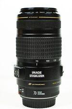 Canon EF 70-300mm F/4-5.6 IS USM Lens Image Stabiliser Zoom lens