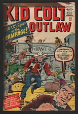 KID COLT OUTLAW #95, 1960, KIRBY COVER