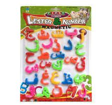 Islamic Magnetic Educational Puzzle Toy Arabic Quran letter number fridge Smart