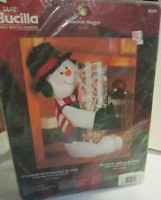 Bucilla Holiday snowman bottle hugger new in package