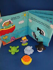 Fisher Price Little People Baby Sea Animal Scuba Diver Whale Turtle Octopus Book