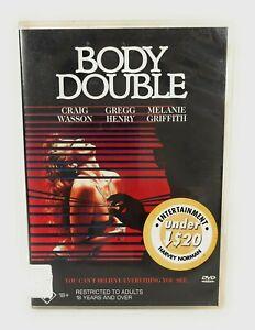 Body Double (DVD, 1984) Craig Wasson Region 4 Free Postage