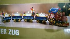 Galeria home Weihnachtszug Zug Teelichthalter Lokomotive Adventskranz 46 cm NEU