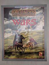 Dungeons & Dragons Greyhawk Adventures WARS Box Set *** IN SHRINK *** TSR