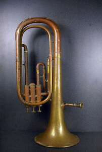 Snorkel Tenor Horn Euphonium Jerome Thibouville Lamy Instrument Horn Music c1900