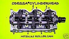 CHRYSLER DODGE MITSUBISHI MITSU 3.0 SOHC V6 CYLINDER HEAD ROLLER CAM 90-01 REMAN
