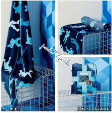 OFFICIAL Game Fortnite Blue Battle Royal Super Soft Blanket fleece 100x 150cm