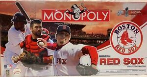 2008 BOSTON RED SOX COLLECTOR'S EDITION MONOPOLY Brand NEW Sealed