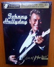 JOHNNY HALLYDAY - LIVE AT MONTREUX - 2CD + 1DVD - ED DELUXE - 2008 - NEW -SEALED