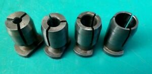 ENGINEERS CLARKSON SMALL S TYPE AUTOLOCK COLLETS IMPERIAL QTY 4