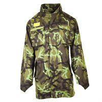 Original Czech army military combat CZ 95 field jacket parka