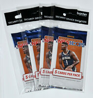 2019-20 NBA HOOPS TRADING CARDS EXCLUSIVE NEON GREEN PARALLELS 4 PACKS