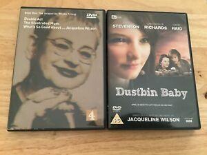 Very Rare Jacqueline Wilson Trilogy DVD + Dustbin Baby DVD