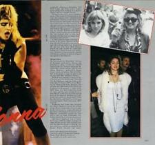 Madonna Pop Music Clippings, Cuttings & Articles