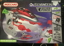 MECCANO MODEL KIT SPACECHAOS SILVER FORCE 3150A new boxed